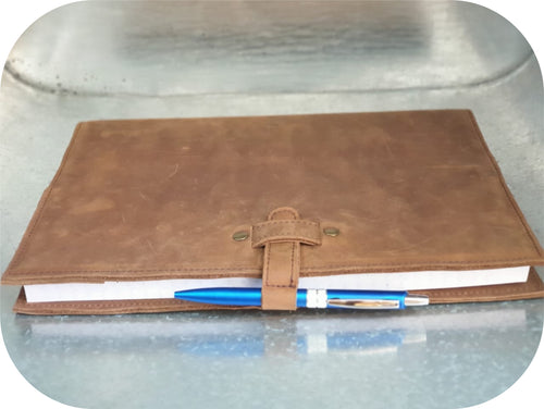 A5 Leather Journal Cover