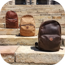 Load image into Gallery viewer, LEATHER Backpack Large