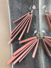 Load image into Gallery viewer, Leather STRIPS earrings