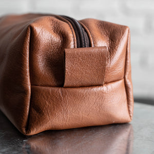 Leather Toiletry Bag Men