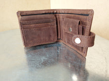 Load image into Gallery viewer, Genuine LEATHER Men's Wallet