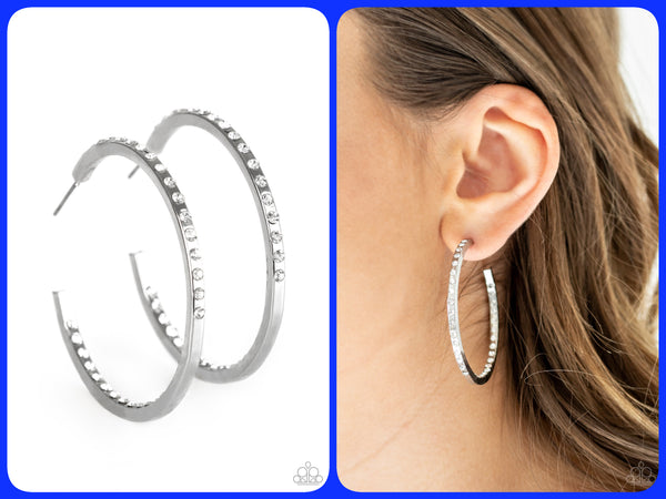 Comin' Into Money - Hoop Earrings