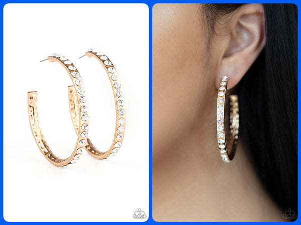 Global Gleam - Gold Hoops