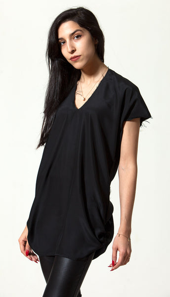 Black Silk Empty Top