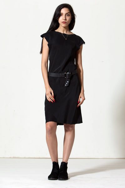 Rodilla Dress: Black