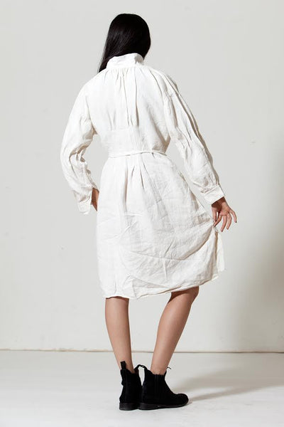 Antique Remodeled Linen Peasant Dress