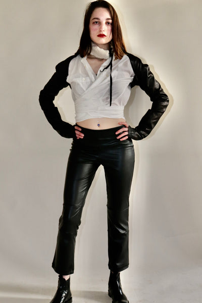 Unleather (Vegan) Cropped Bootlegging
