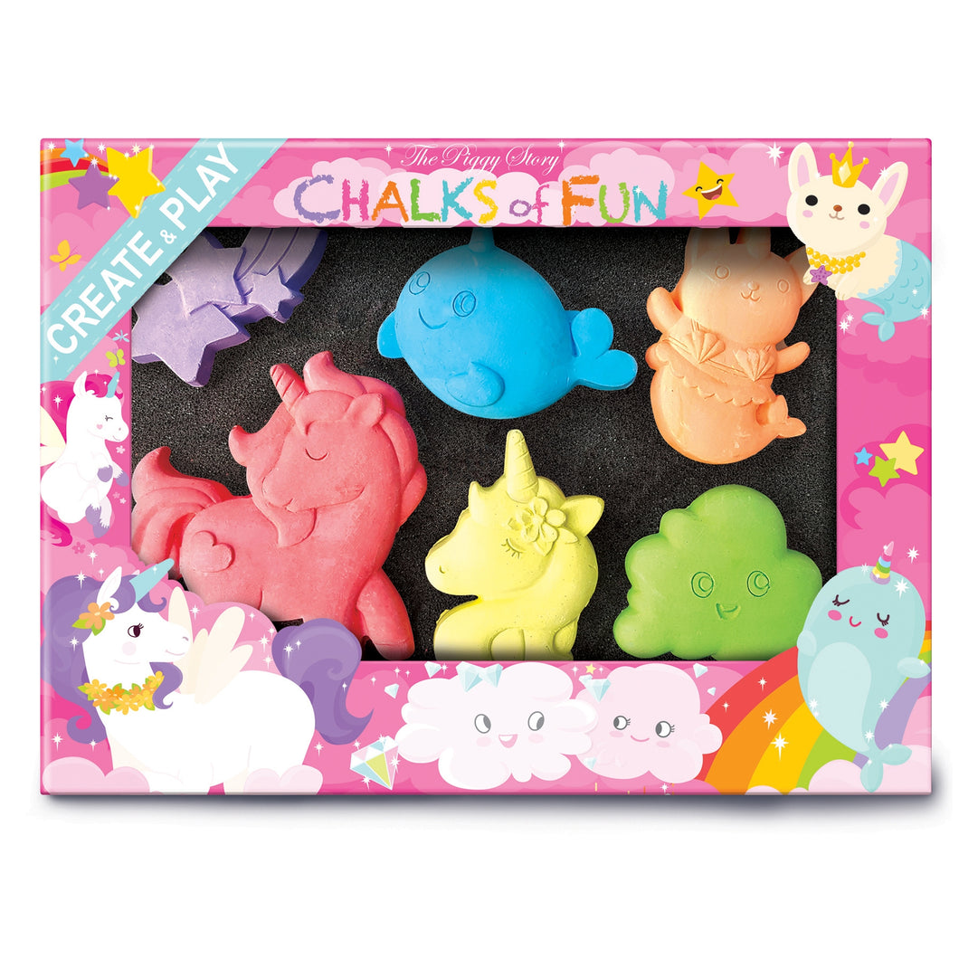 Unicorn Land Chalk Critters