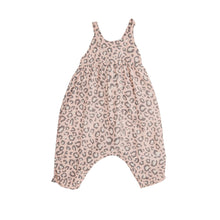 Load image into Gallery viewer, Leopard Tie Back Romper