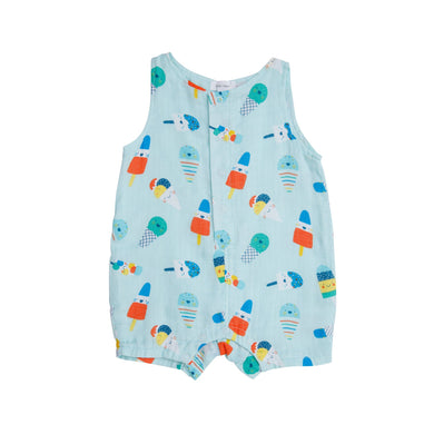 Shortie Romper- Popsicles