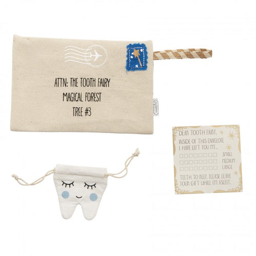 Boys Tooth Fairy Envelope