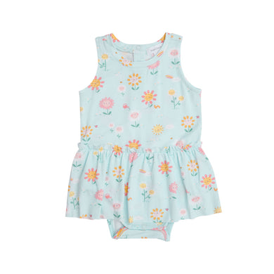 Onesie with Skirt- Hello Daisy