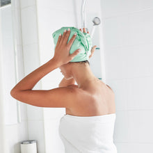 Load image into Gallery viewer, Quick Dry Hair Towel-Mint Green
