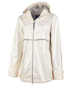 Women's New Englander Metallic Rain Jacket