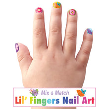 Load image into Gallery viewer, Lil' Fingers Nail Art- Spring Fling