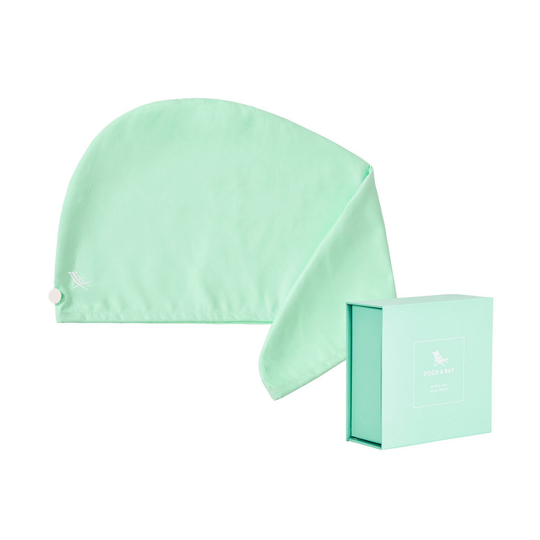 Quick Dry Hair Towel-Mint Green