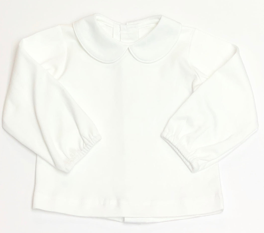 Boys Long Sleeve Collared Knit Shirt