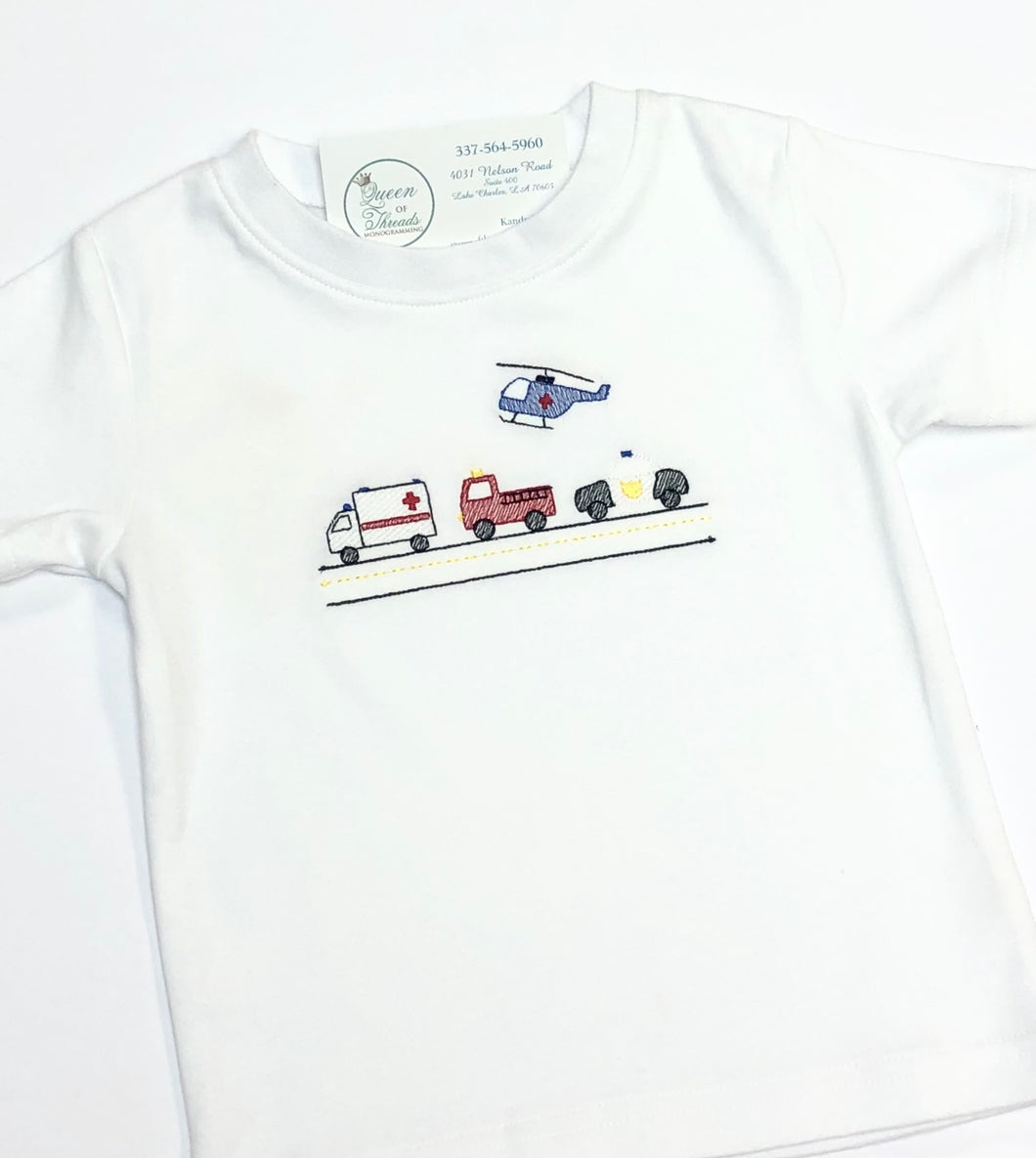 Emergency Vehicle Tee