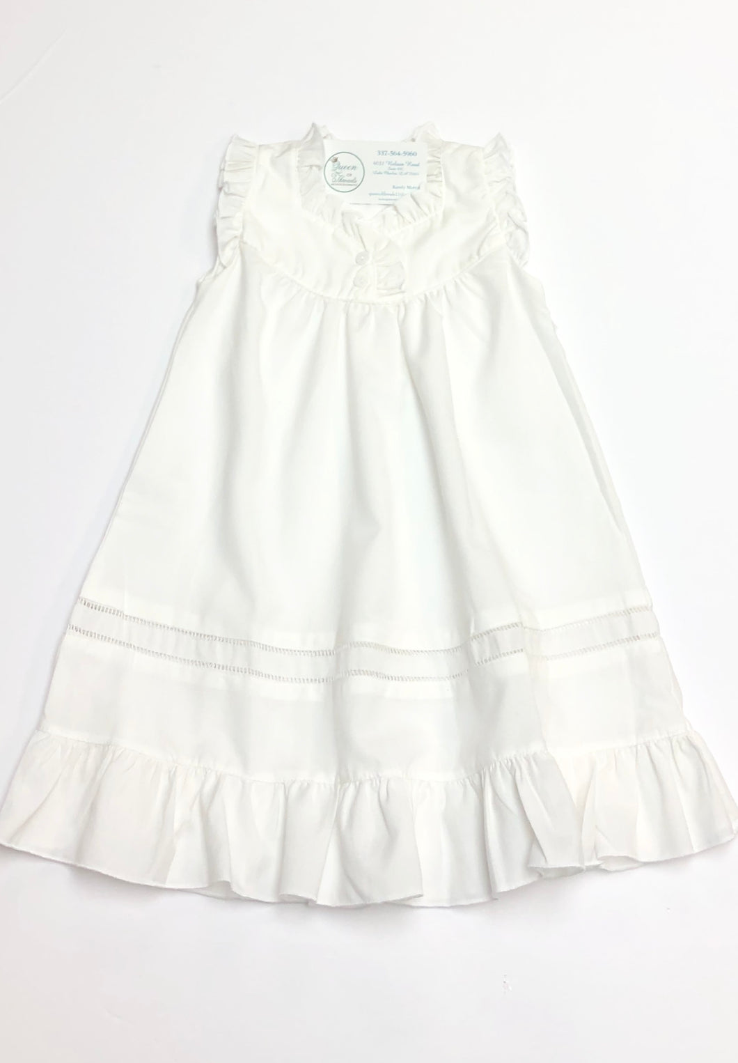 White Anna Nightgown