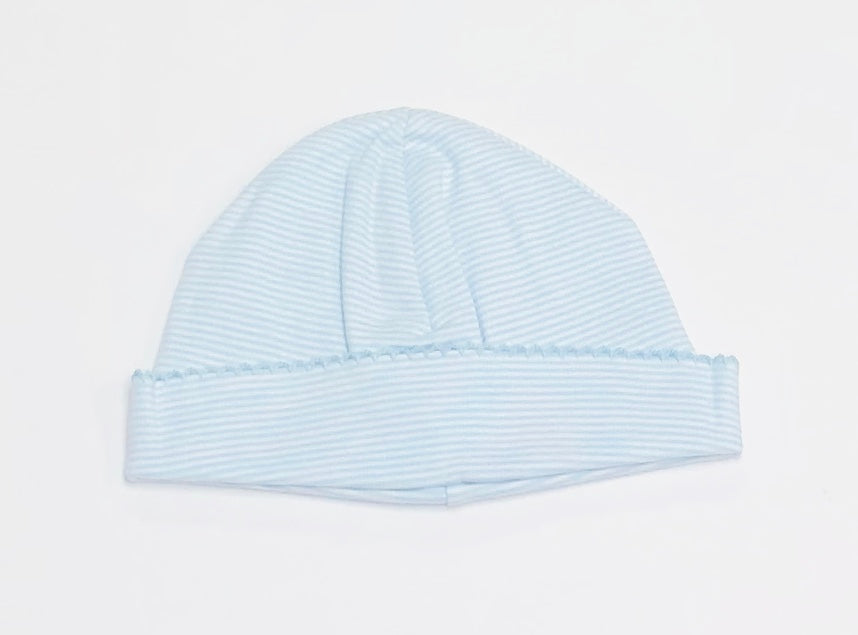 Striped Pima Cotton Caps
