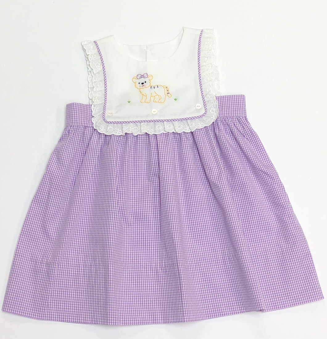 Purple Tiger Dress
