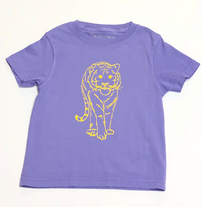 Purple and Gold Tiger T-Shirt