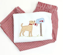 Load image into Gallery viewer, Boys Applique Valentine's Dog Tee
