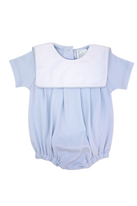 Light Blue Pima Bubble with Bib