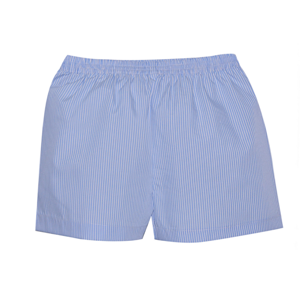 Blue Bennett Striped Shorts