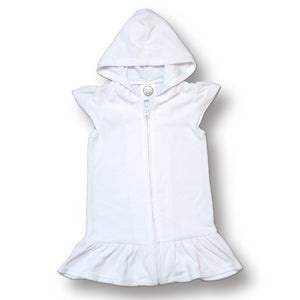Girls Terry Cloth Swim Cover Up Dress