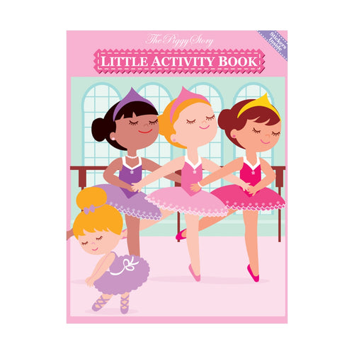 Pretty Ballerinas Little Activity Book