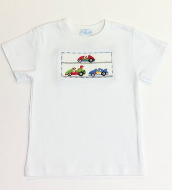 Racecar Smocked Shirt
