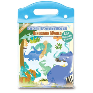Sticker Activity Tote- Dinosaur World