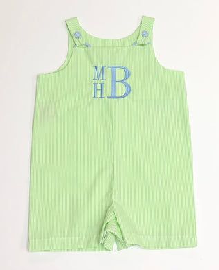 Lime Green Leonard Boy Shortall