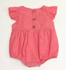 Red Chambray Bubble