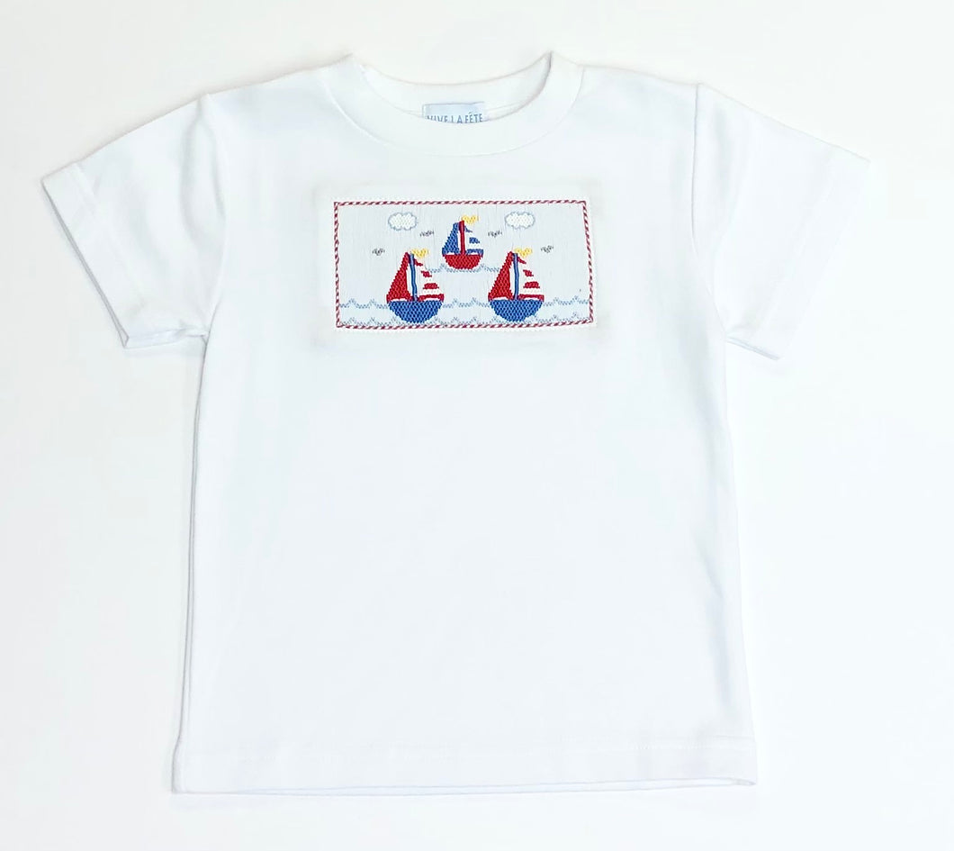 Sailing Smocked Shirt