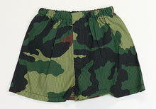 Load image into Gallery viewer, Woodland Camo Seersucker Shorts