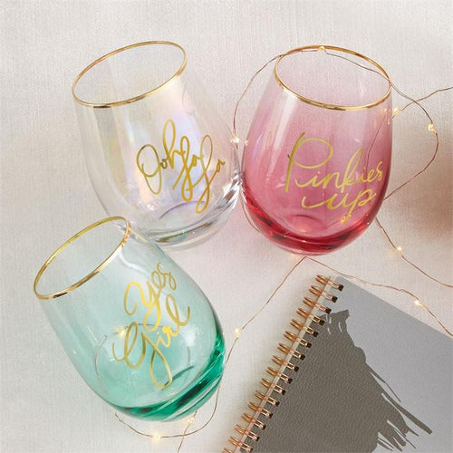 Sentiment Wine Glasses