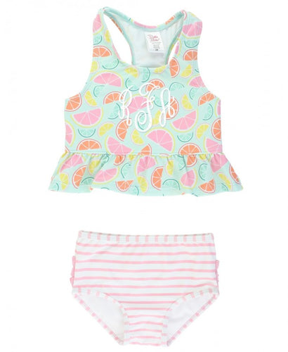 Squeeze the Day Peplum Tankini