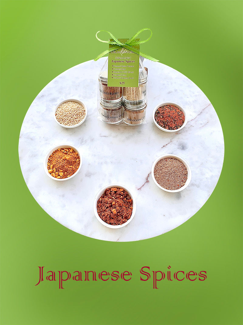 Japanese Spices Set