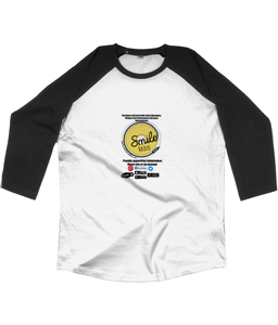 Baseball 3/4 length Smile Radio T-Shirt (A)