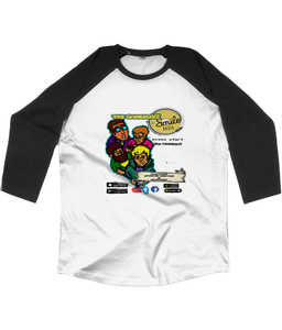 The GameboyZ of Smile 3/4 Baseball T-Shirt