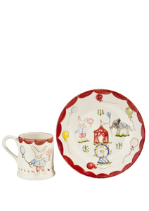 Children's Cup and Plate Set
