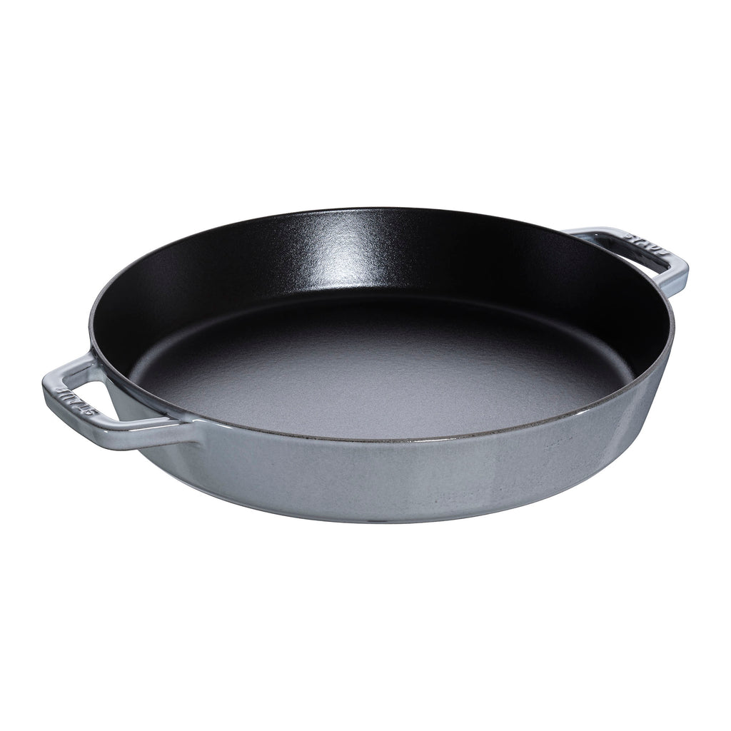 Cast Iron Double Handle Fry Pan