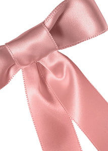 Satin Bow Barrette