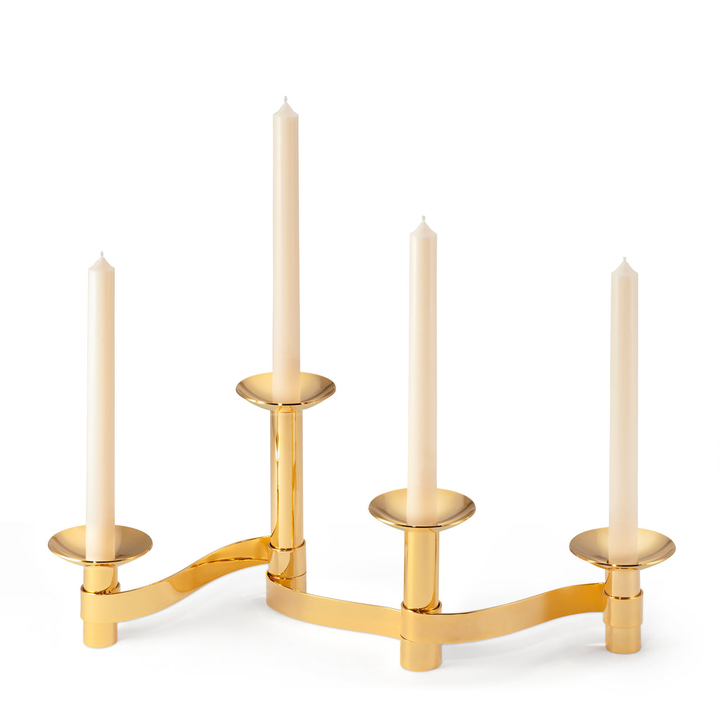 Evelina Centerpiece, Set of 4