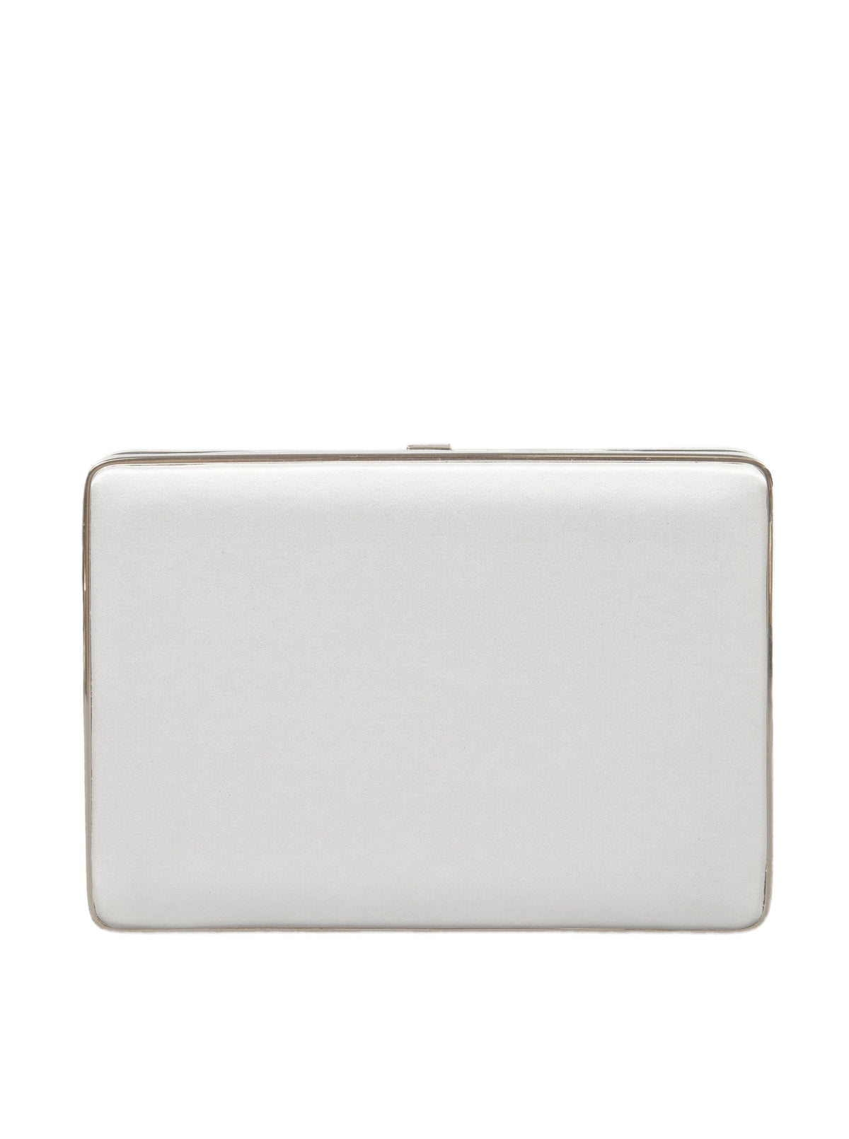 The Square Compact Case in Satin