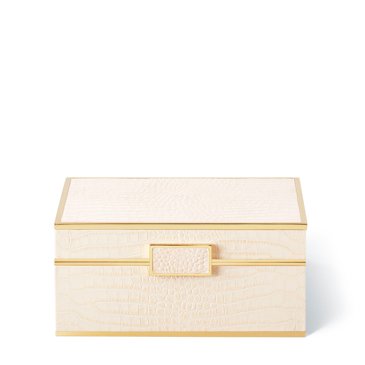 Classic Croc Jewelry Box, Bisque