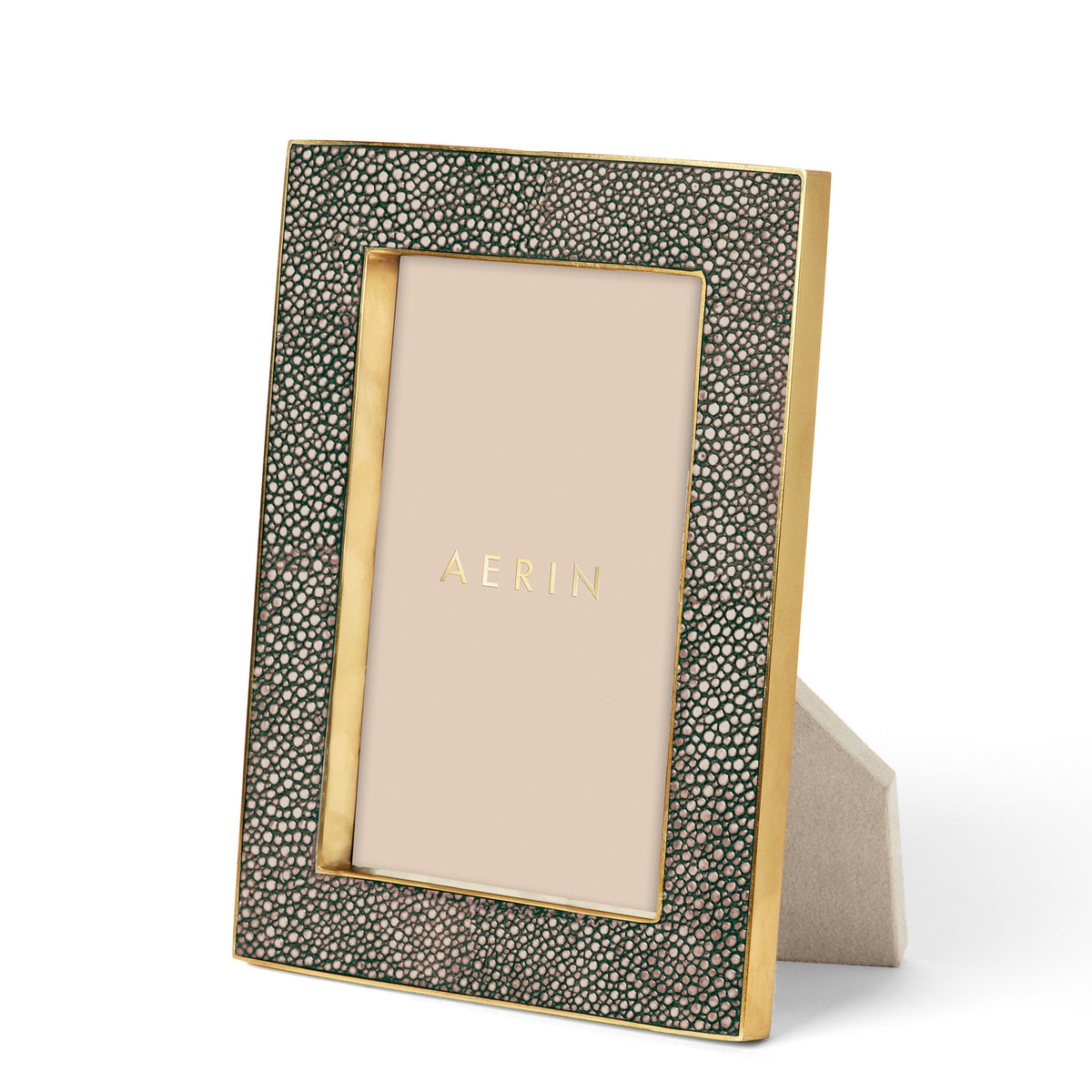 Classic Shagreen Frame, Chocolate