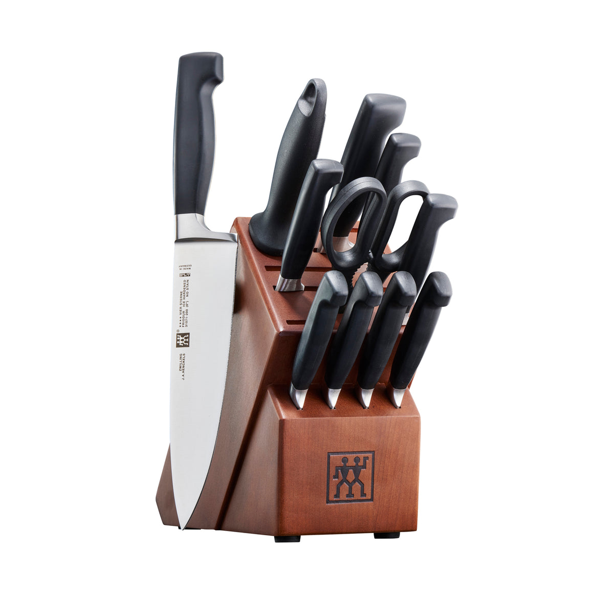 Zwilling J.A. Henckels Four Star Knife Block Set, Set of 12